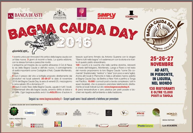 Bagna Cauda Day 2016